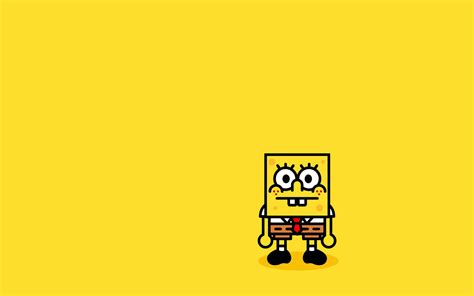 Animated Spongebob Wallpaper - spongebob minimalism hd 4k wallpapers images