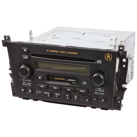 2002 Acura Tl Radio Code by 2002 Acura Tl Radio Or Cd Player Am Fm Cass 6cd Radio With