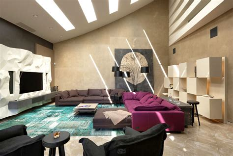 Fancy House In Kharkiv By Sbm Studio