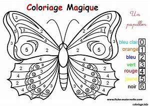 Dessin Facile Papillon : coloriage magique un papillon facile dessin ~ Melissatoandfro.com Idées de Décoration