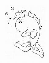Angel Fish Coloring Drawing Popular sketch template