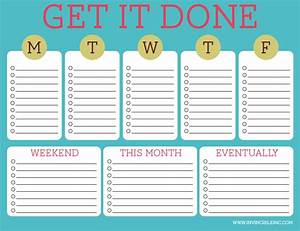 organization and time management part 2 make a to do list With time management to do list template