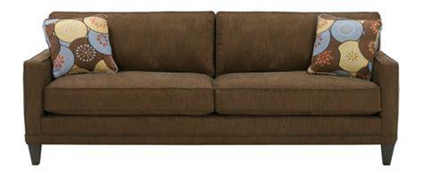 Contemporary Apartment Size 2 Cushion Queen Sleeper Sofa