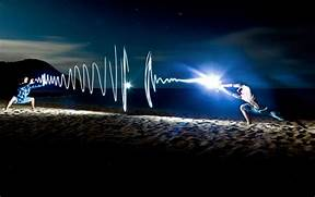 Photographers Lighting by Light Painting Photography Inspiration Photos