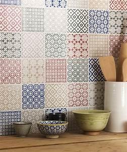 carrelage salle de bain colore - le carrelage mural en 50 variantes pour vos murs
