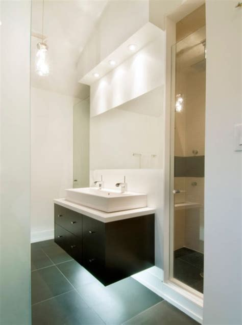 small modern bathrooms with bath how to take advantage of floating vanities to make