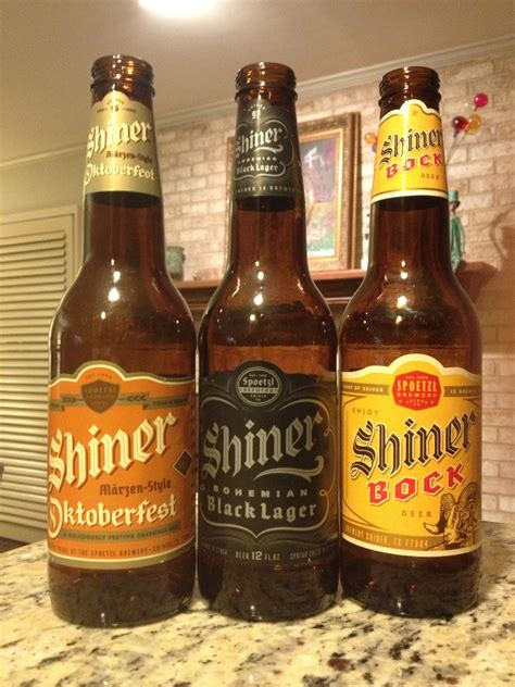 shiner bock dallas beer snobs taste test shiner bock shiner oktoberfest and shiner bohemian black lager