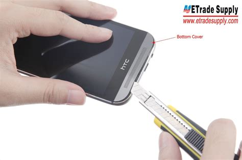 How To Open Htc One M8 Back Cover by How To Disassemble Tear Down The Htc One M8