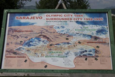 le si鑒e de sarajevo le tunnel de sarajevo bosnie