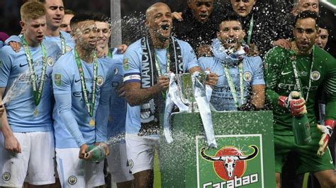 Manchester City Carabao Cup Winners