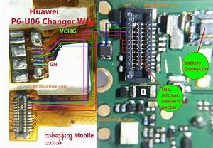 Huawei Ascend P6 U06 Charging Problem Ways Solution Jumper