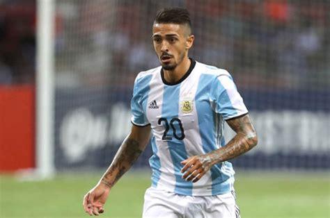 manuel lanzini west ham stars  start  argentina