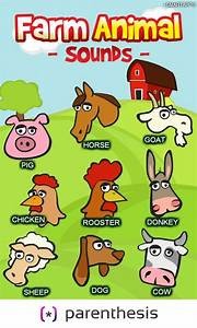 FARM ANIMAL Sounds for Kids - Android Apps on Google Play