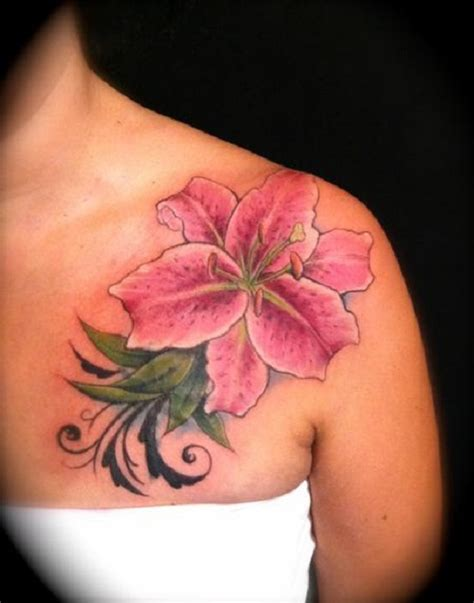 Beautiful Lily Tattoos  Best Tattoo 2015, Designs And