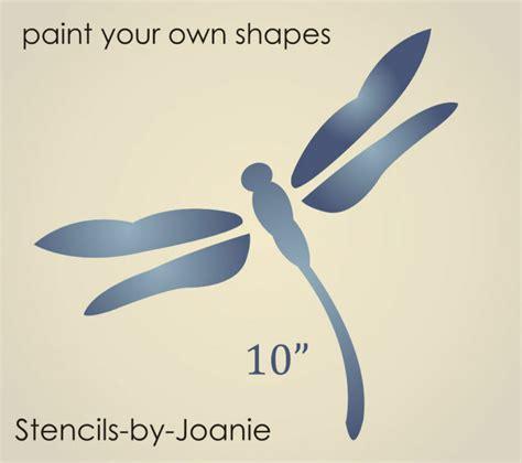 joanie stencil  dragonfly wing summer yard art garden