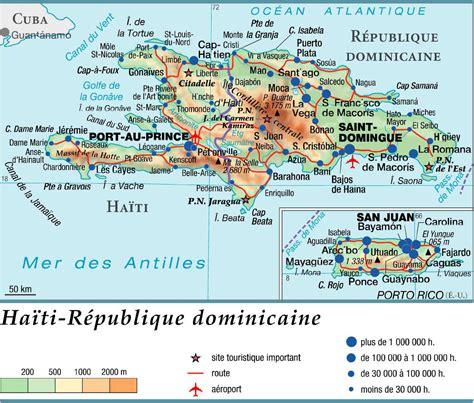 Punta Cana Carte Géographique Monde by Carte De La R 233 Publique Dominicaine Plusieurs Cartes Du