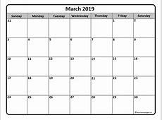 March 2019 calendar 56+ templates of 2019 printable
