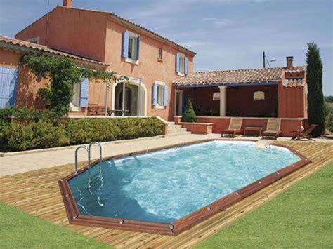 prix piscine bois enterree piscine ronde semi enterr 233 e prix