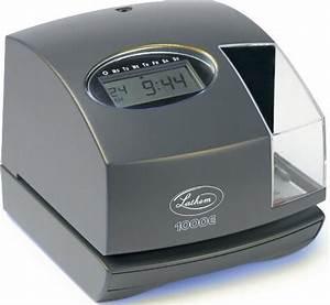 lathem 1000e electronic time recorder document stamp 5 With electronic document stamp