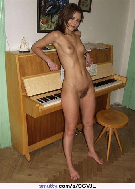 Hairey Teen Hot Sweaty Piano Barefoot Nude