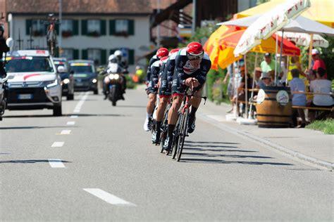 Top competitors are edvald boasson hagen, jakob fuglsang and rui costa. 2018 Tour de Suisse #1 Frauenfeld   D71_2913   s.yuki   Flickr
