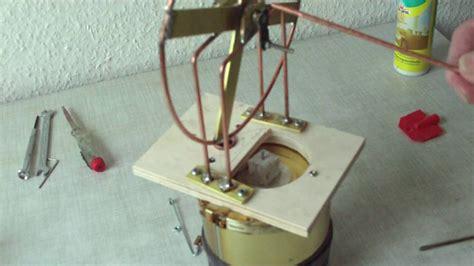 stirlingmotor selber bauen bauanleitung zum dosen stirlingmotor 2