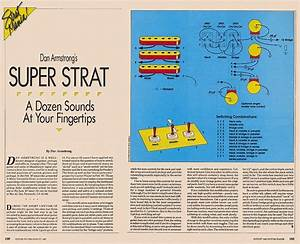 Dan Armstrong Super Strat Article And Wiring Diagram
