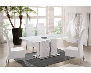 chaise capitonnee salle a manger bricolage maison et With salle À manger contemporaine avec chaise capitonnée salle a manger