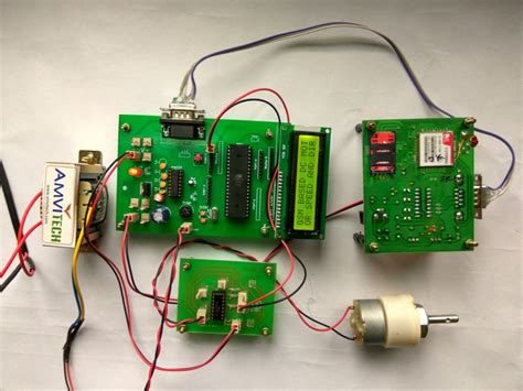 Gsm Based Motor Speed Direction Control