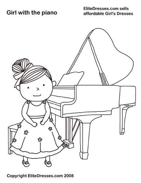 piano coloring pages piano coloring pages to and print for free