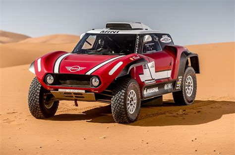 mini john cooper works buggy targets dakar rally win