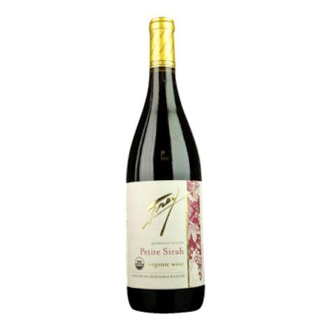 2018 Frey Organic Petite Sirah Organic Wine Exchange