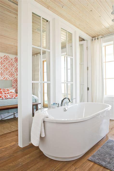 decorative wall shelf ideas 65 calming bathroom retreats southern living