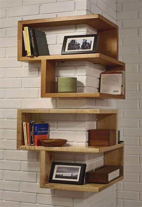 mensole originali mensole fai da te in legno 20 semplici idee originali e