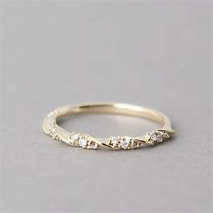1000 images about yellow gold engagement rings on With simple but unique wedding rings