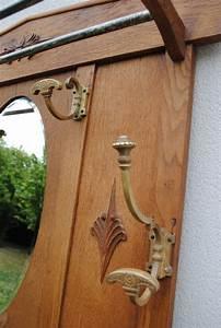 vestiaire porte manteau ancien en bois luckyfind With porte manteau ancien bois