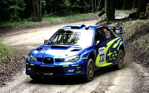 Subaru Rally Car Wallpaper