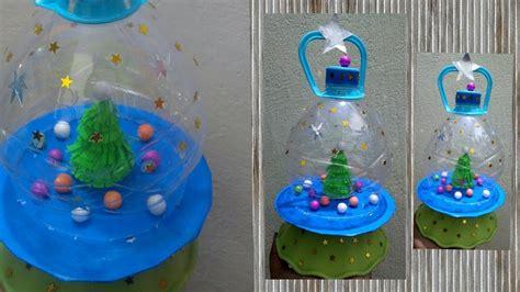 diy ii   waste plastic bottle craft ii christmas