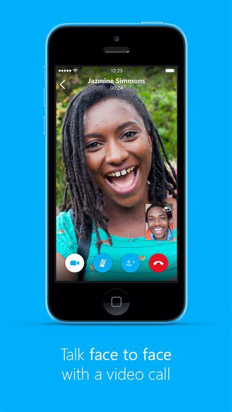 skype  iphone  updated  interactive call