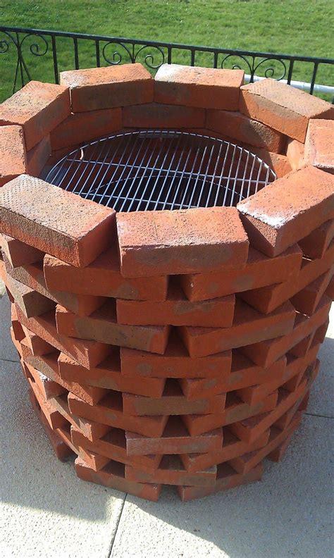 brick bbq designs fresh and healthy food with brick bbq grill pit