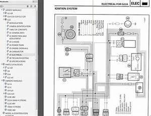Yamaha Golf Cart G2 - G29  Ydr Factory Repair Service Manual