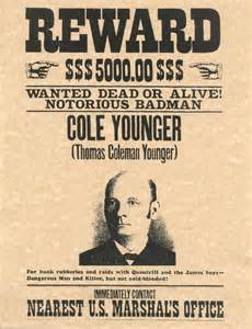 Real Old West Wanted Posters