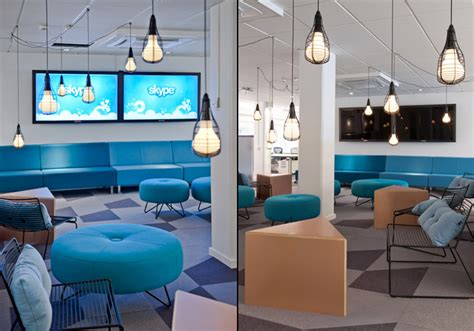 skype offices  ps arkitektur stockholm retail design blog