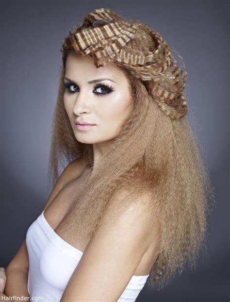hair crimping styles crinkle hairstyles fade haircut 2363