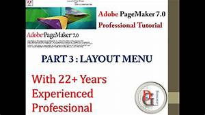 Adobe Pagemaker  Tutorial 3