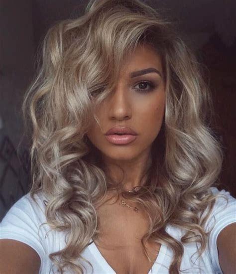 cute hair colors  brown skin hair colors idea