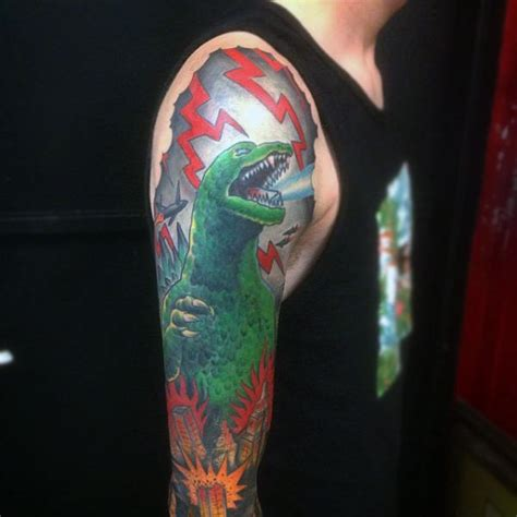 Scooby Doo Tattoos godzilla tattoo designs  men awakened sea monster ink 600 x 600 · jpeg
