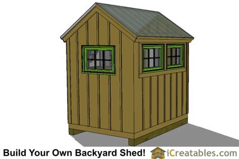 6x8 Storage Shed Home Depot by 6x8 Greenhouse Shed Plans Storage Shed Plans
