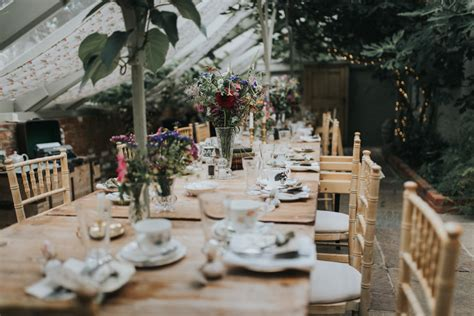 secret garden budget wedding with diy decor high street