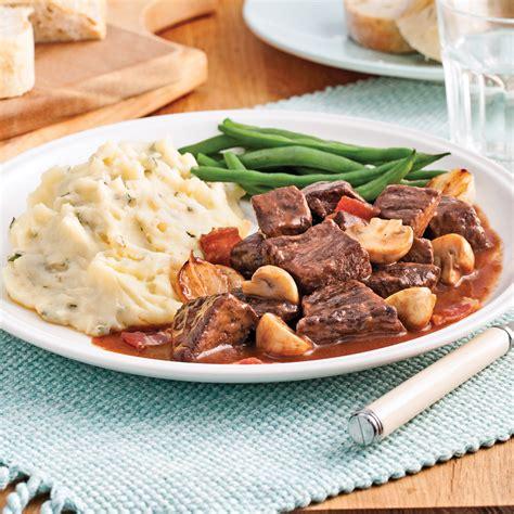 pratique cuisine boeuf bourguignon recettes cuisine et nutrition